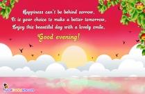 Good Evening My Love.