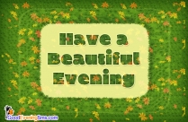 Good Evening SMS for Facebook