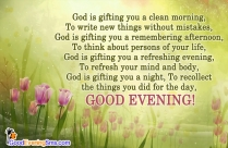 Have A Blessed Evening