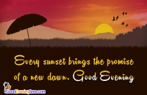 Good Evening SMS for Whatsapp