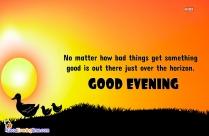 Good Evening Motivational Message