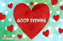 Good Evening For Love