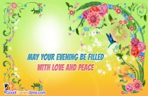 Lovely Evening Wishes