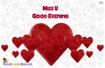Good Evening Miss You Quotes