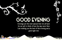 Quotes On Good Evening