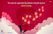Good Evening Sweetheart!