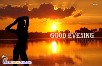Good Evening Sunset Images