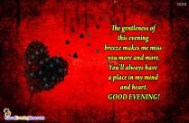 Good Evening Honey