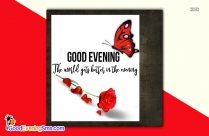 Good Evening Message Picture