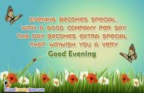 Good Evening Dear Friend Quotes