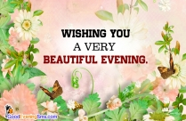 good evening my love sms