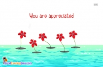 You Are Appreciated